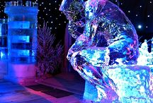 Снежно-ледовая скульптура