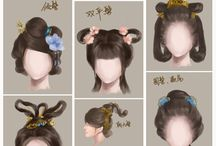 ancient Chinese hairstyles