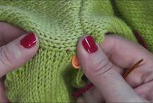 wykańczanie swetrów