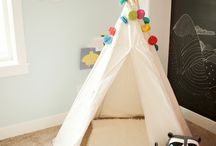 Teepee Tent as a Photography Idea / Teepee Tent Kids as a photo prop for outdoor and indoor photography. Decoration ideas