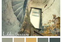 Color Palettes / Inspiração para colorir
