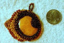 crochet  jewel and