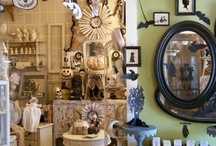 Antique booth and display ideas / by Vintage Dixie Gypsy