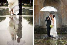 свадьба дождь