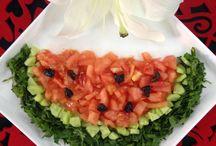 karpuz salata kaavaltı