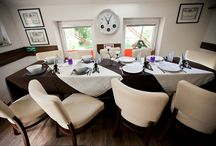 Interiér reštaurácie / Vkusne zariadená reštaurácia a kaviareň ideálne pre posedenie s vašimi najbližšími.