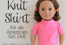 "Free 18"" Doll Clothes Patterns / by Sherri Sylvester"