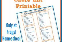 Chore lists