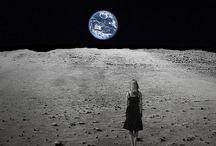 Girl on the moon / Une fille sur la lune ....what else ?