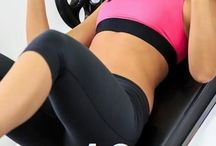 gym routines / by Heidi Ebert