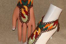 Вязанныеи браслеты