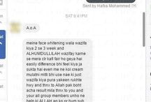 Skin and Acne Wazaif Testimonials / Proofs evidences tested and tried results