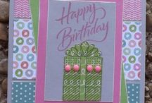 Birthday Cards; CTMH & Others