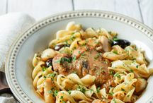Winter Recipes and Ideas / Pasta recipes perfect for winter and fun party ideas, beautiful table settings, and family activities to go with them.