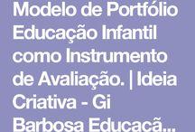 portifólio infantil