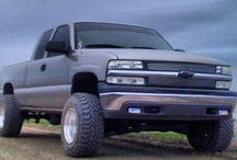 Chevrolet Silverado Trucks / by GMC Sierra