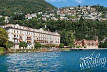 Lake Como Wedding - Luxury Hotel Cernobbio / Lake Como wedding planner  Email: info@italianweddingplanners.com