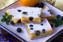 Dessert - Bars - Browines