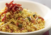 Food - Grains, Pulses and Cereals / Couscous, quinoa, farro and orzo and more