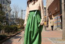 modern korean dress