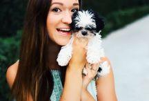 Awesome Alisha Marie and her cute dog
