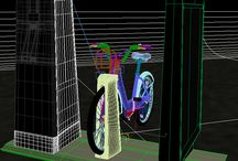 BIXI Hubway Boston 3D Model