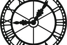 Steampunk Pattern Outline