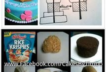 Sculpted Cake Tutorials