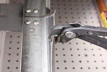 replacing roller's on a garage door