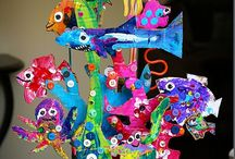 Under the Sea / Beach, seaside, sea creatures and ocean themed activities and crafts for kids!