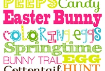 Easter Decor / by E Hatcher