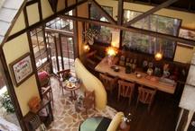 cafe / 可愛らしいカフェの写真