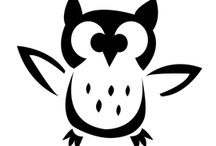 Arts & Crafts: Bird & Feather Templates 1