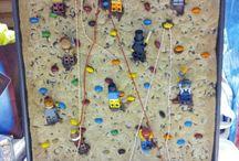 rock climbing party ideas