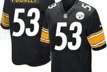 Steelers Maurkice Pouncey Black Authentic Jersey For Women's & Youth & Men's All Size