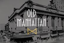 """Old Manhattan / Take a few shots, and sit back to enjoy the """"good"""" ol' days."""
