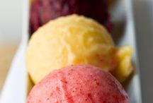 glace / sorbet