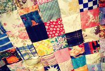 Patchwork! / I always love patchwork quilts, I can never resist them. Each tells it's own story.