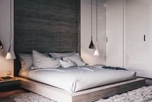 Bedroom Design / Bedroom Decor and Design, Scandinavian Design, Nordic Style, Modern Minimalist, Boho Home, Zen Living, Light-Filled Home, Wall Art