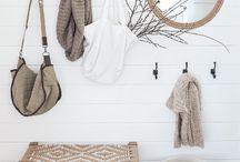 Entry coat hanger