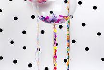 Composizioni di palloncini / Balloon art nei magici negozi di Punto Feste