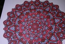 Mijn mandala's / http://mandalasdaniella.blogspot.nl/