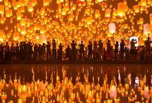 Tailândia • { Festival das Lanternas }