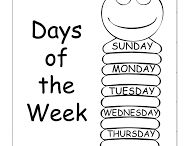 Days of a week.