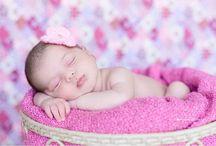 Fotos recém nascidos / Logo será a Luiza