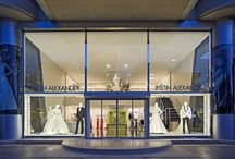 Justin Alexander Stores / We are thrilled to announce that we now have three exclusive Justin Alexander stores in Turkey. The two story location in Antalya provides an amazing shopping experience for all brides.