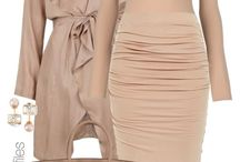 Dress Color Code: beige and blue