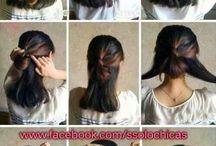 peinados para cabello cortito