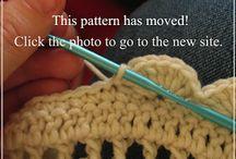Puntos, puntillas de crochet