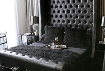 Black Leather Beds